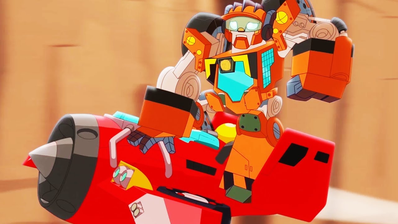 Transformers Official | The Rescue Bots Rocket Rescue | Full Episode | Rescue Bots Academy