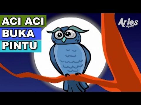 Alif & Mimi - Aci Aci Buka Pintu (Animasi 2D) Lagu Kanak Kanak