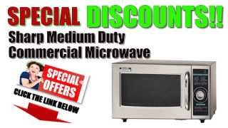 [Sharp Microwave Oven BEST BUY!]^ Sharp Medium Duty Commercial Microwave Oven BEST OFFERS/DISCOUNTS?