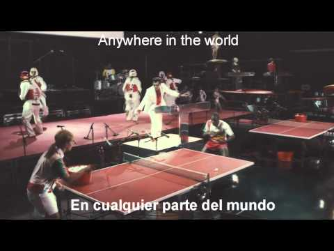 Mark Ronson Ft Katy B - Anywhere In The World [Sub Esp - Ing] [HD - 3D]