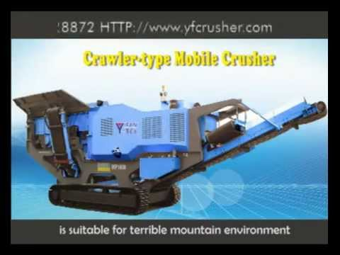 YIFAN Machinery Tracked Mobile Crusher