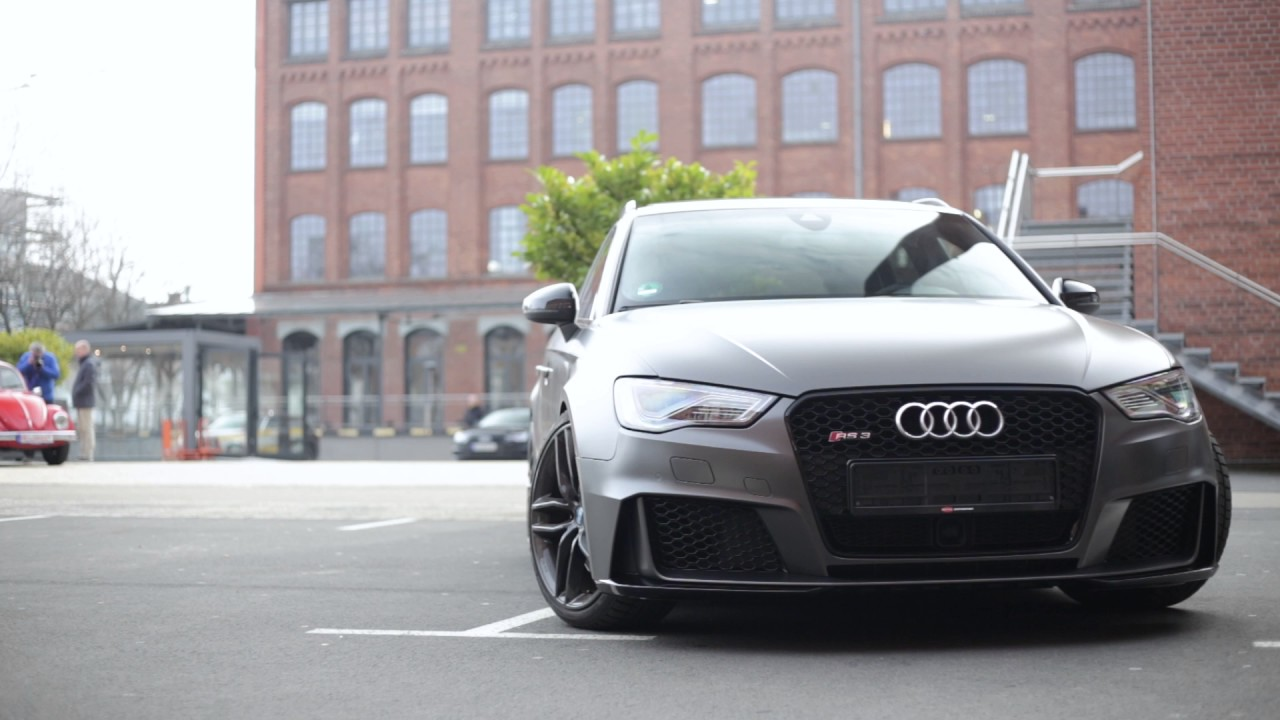 Ys Wrapping Audi Rs3 Vollfolierung