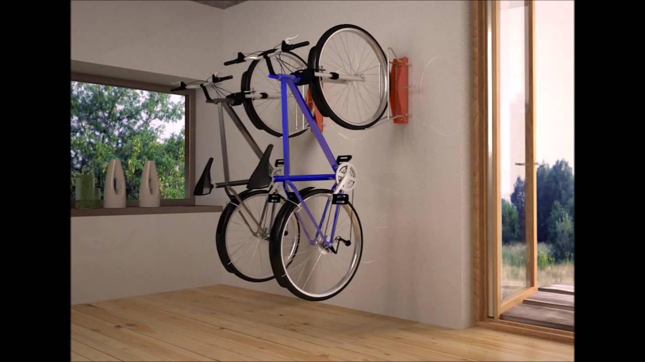 colgador de bicis