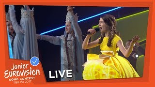 JUNIOR EUROVISION 2017 - OPENING OF THE SHOW - MARIAM MAMADASHVILI - MZEO