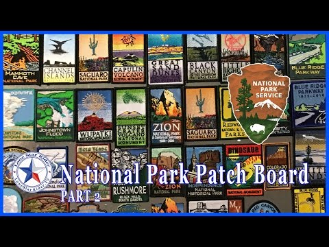 National Park Patch Board Part 2 • 02-23-2017