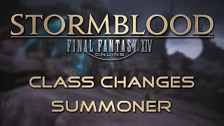 Stormblood Class Changes: Summoner