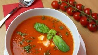 KOCHEN | Tomaten-Mozarella-Suppe | SooO LECKER! | SweetLifeSunShine