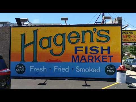 Hagen's Fish Market On Montrose Chicago