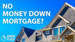 No Money Down Mortgages - 2 Min. Tuesdays