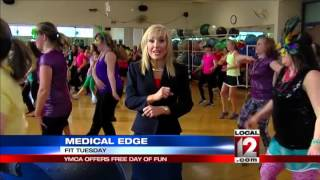 Medical Edge: Fit Tuesday event for fitness