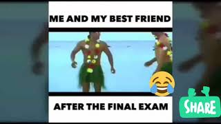 Comedy clip (Feelings when exams over)