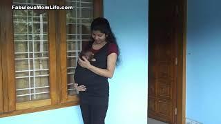 Mommy Cuddle Wearable Newborn Baby Carrier Kangaroo Top