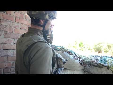 Украинские военные показали, как обороняют прифронтовую Марьинку