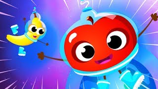 Awesome Apples and Bananas 🔴 Fruits and Vegetables Songs by Little Angel
