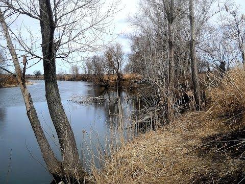 рыбалка на спиннинг на малых реках весной