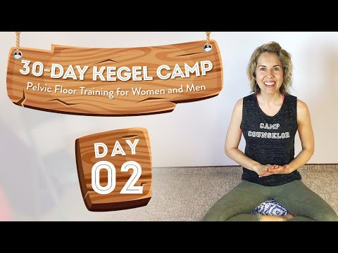 How To Do Kegels Properly 🏕️ At-Home Kegel Camp, Day 2