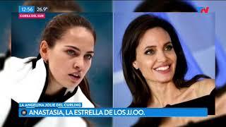 Anastasia, la belleza de los Juegos Olímipicos de invierno