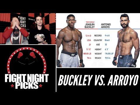 UFC Fight Night: Joaquin Buckley vs. Antonio Arroyo Prediction