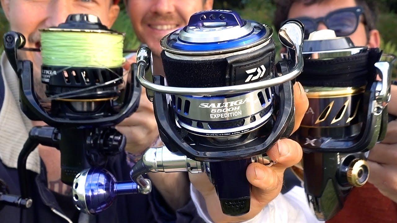 13627442caa Shimano Stella or Daiwa Saltiga. MorningTide Fishing