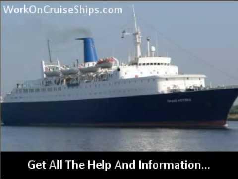 Get Cruise Ship Job Opportunities
