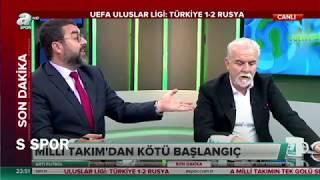 Turk Ye Rusya Mac Sonrasi M Ll Takim Ve Lucescu De Erlend Rmes Spor