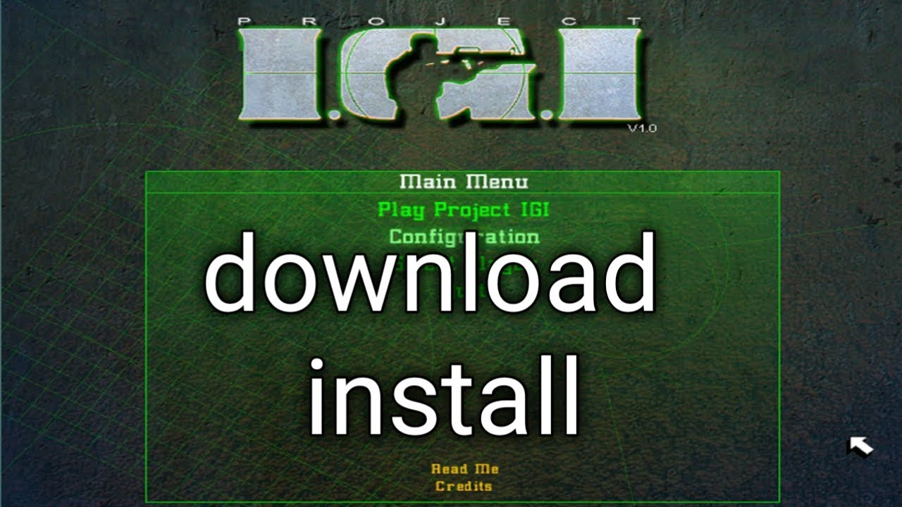 Download project igi 1 game for pc full version free.