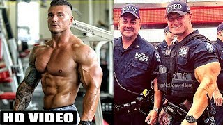 Jacked Cop Michael Counihan NYPD | Michael Counihan Workout
