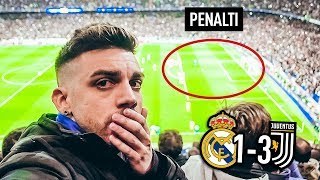 REACCIONANDO AL PENALTI DE RONALDO | Real Madrid 1-3 Juventus