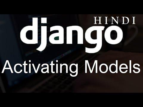 Django Tutorial   7   Activating Models