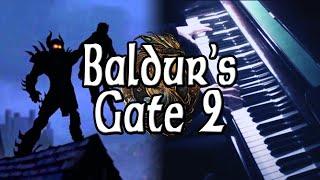 Baldur S Gate 2 Main Theme On Piano Rhaeide