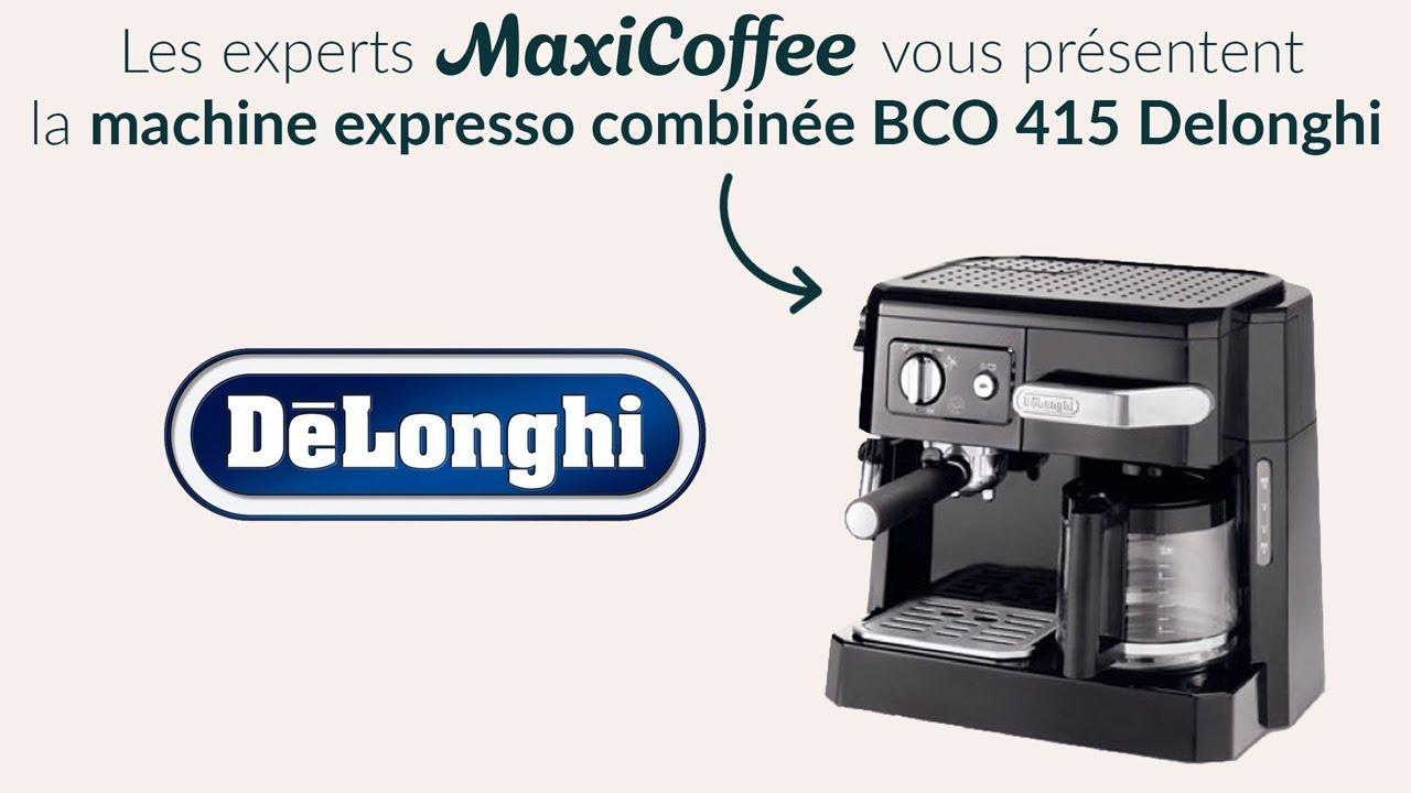 delonghi bco 415 machine caf automatique le test maxicoffee youtube