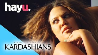 Khloé's Naked PETA Shoot | Keeping Up With The Kardashians