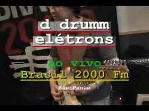 Rock Brasileiro 2008 ao vivo na Rádio Brasil 2000 Fm