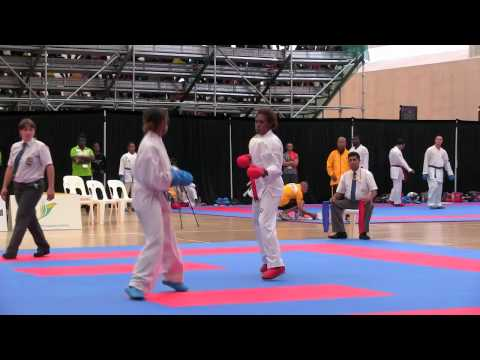 Karate - First Gold Medal for Team Vanuatu in 2015 PG