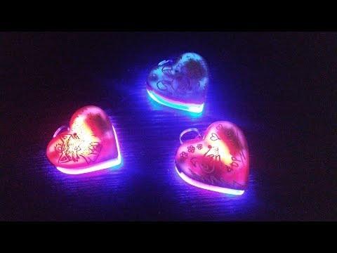 Светодиодное (светящееся, моргающее) сердце своими руками. Ничего сложного.