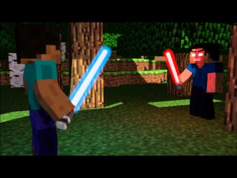 Minecraft - The Lightsaber