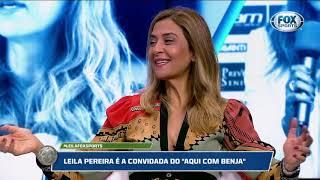 Leila revela emoção com a torcida do Vasco, mas dá recado!