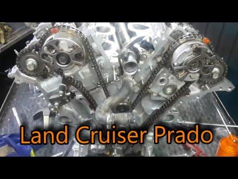 Toyota _ Land Cruiser 2014 engine timing chain _ Prado v6 engine timing chain