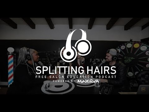 Splitting Hairs Podcast Season 3 002 - Topics: Curtain Bangs, 5 Hair Myths, and Your Questions