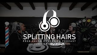 Splitting Hairs Podcast Season 3 002 - Topics: Curtain Bangs, 5 Hair Myths, and Your Questions