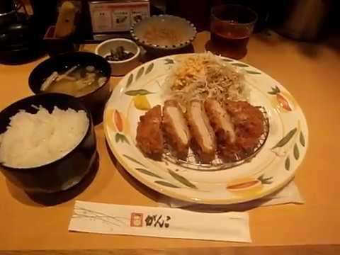 大阪難波とんかつがんこランチロースカツ定食