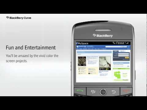 BlackBerry Curve 8900 Javelin Unlocked Phone Introducing