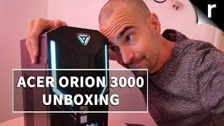 Acer Predator Orion 3000 Unboxing & Setup