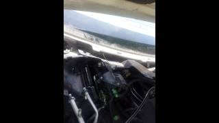 03 lincoln town car a/c leak.