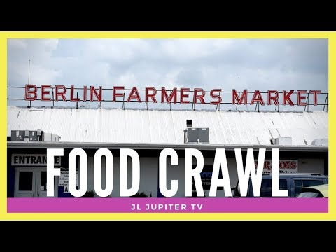 Berlin Farmer's Market Food Crawl!