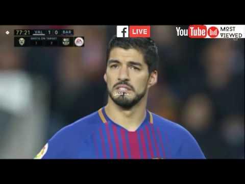 Valencia VS Barcelona - Live Bein Sport HD3 (26/11/2017) HD