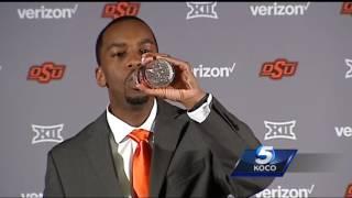 Oklahoma State introduces Mike Boynton as men's basketball head coach