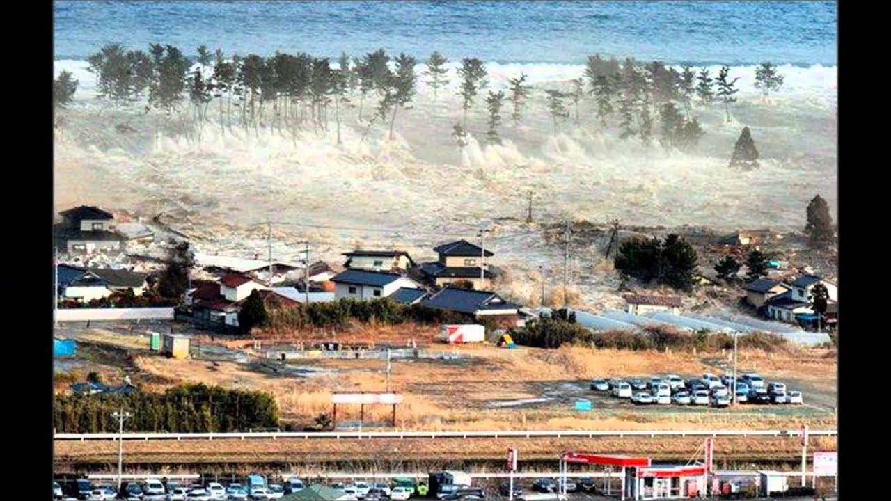 Tsunami Welle