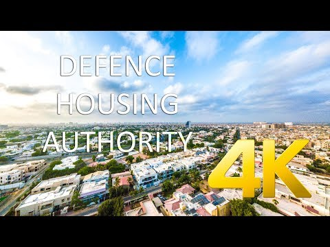 Defence Housing Authority (Aerial) - Karachi - 4K Ultra HD -