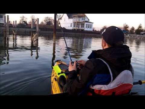 Kayak fishing on buckeye lake with camera set up youtube for Buckeye lake fishing